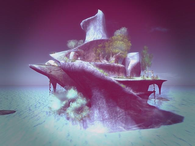 LEA27 - Image Monsters Tea Party - Fantasy Island