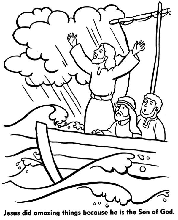 Noah\'s ark coloring page | Free, coloring pages with Christi ...