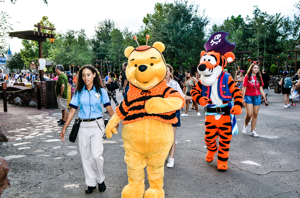 Pooh and Tigger Halloween