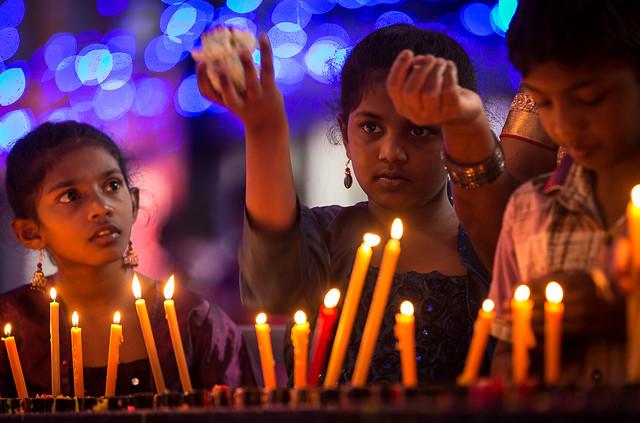 Bangalore, India: con la mirada en María