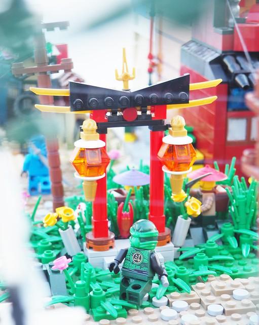 Ninjago Diorama: Torii