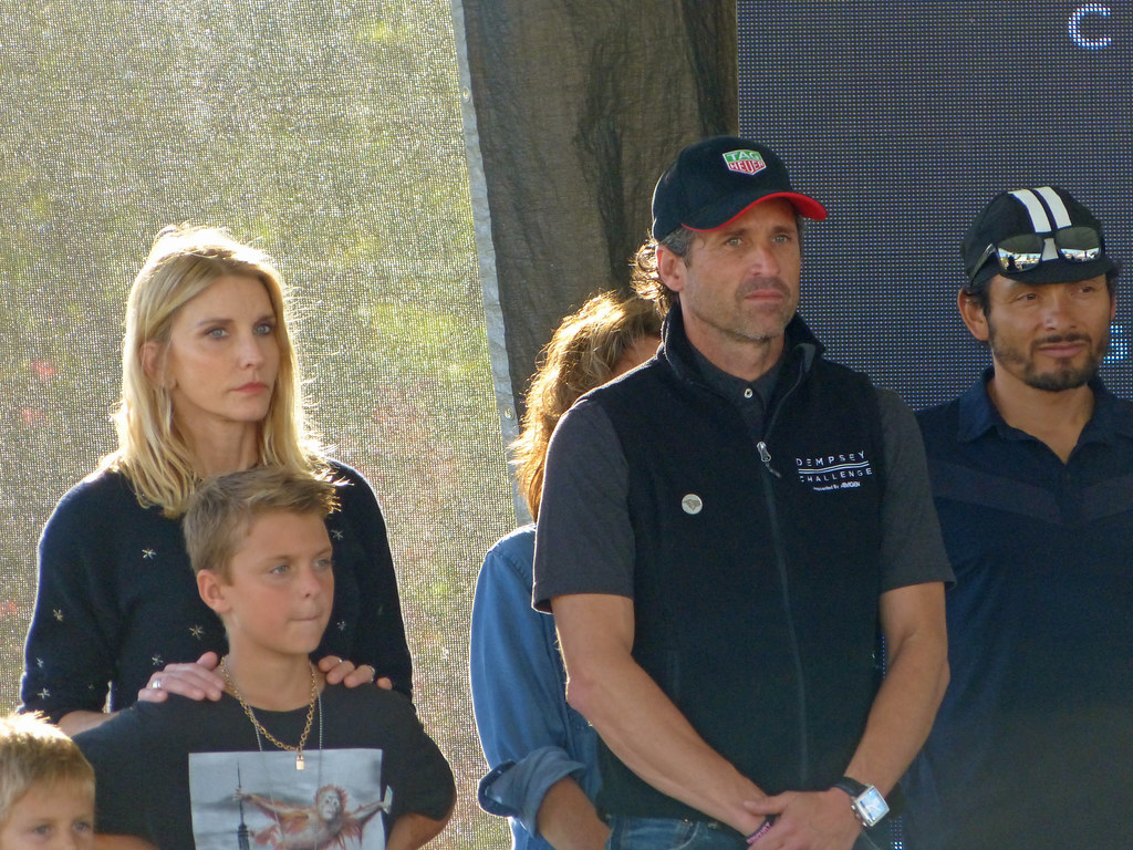 Patrick Dempsey Family And Fred Freddie Rodriguez Flickr