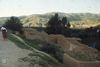 Hills of El Kansera du Beth. West of Meknes. 1972