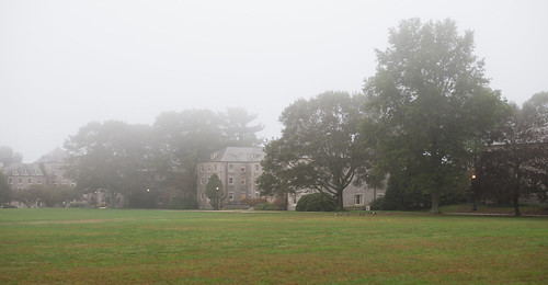 Connecticut College in Fog | by *rboed*