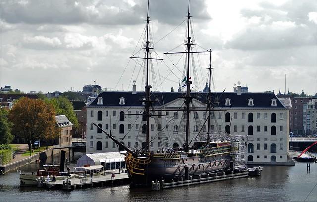 VOC ship  The Amsterdam  explore 04-10-2017
