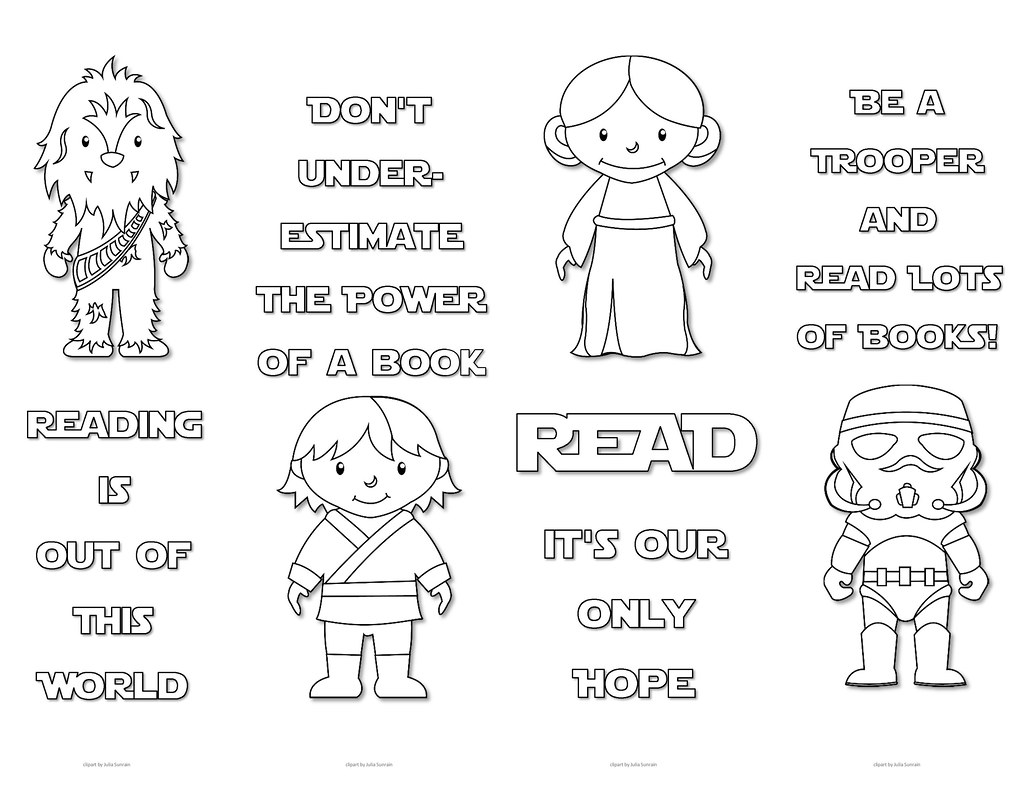 photograph regarding Star Wars Bookmark Printable identify Star Wars Colouring Bookmarks - Preset 2 Print this sort of lovely Sta