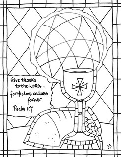 Psalm 107 coloring | by traqair57