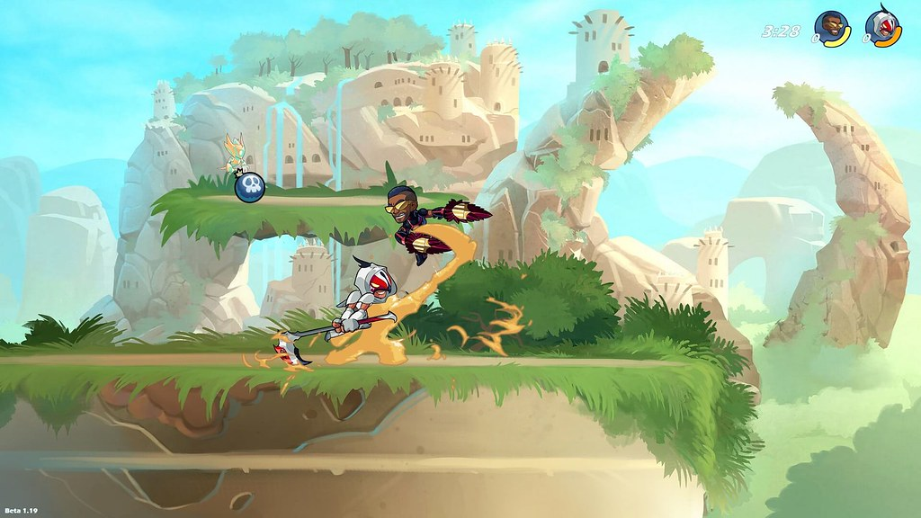 Brawlhalla Review - A Platform Fighter with Merits of Its