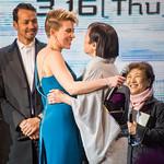 Ghost In The Shell World Premiere Red Carpet: Scarlett Johansson & Momoi Kaori