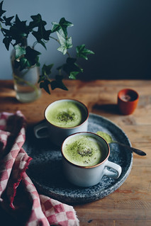 Matcha Latte | Cashew Kitchen | by cashewkitchen