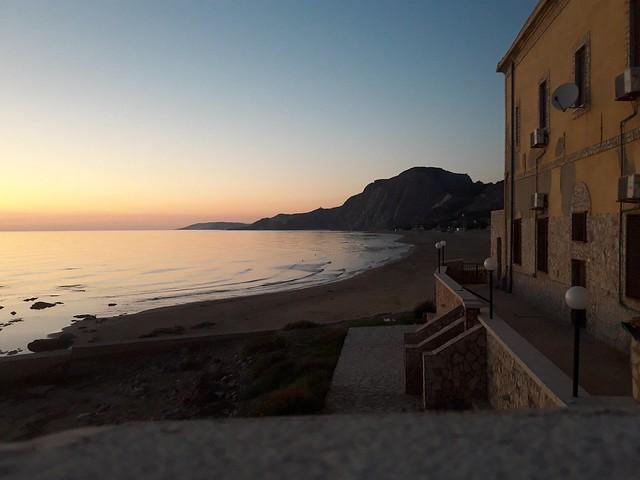 Siculiana Marina agrigento Sicilia mese di ottobre