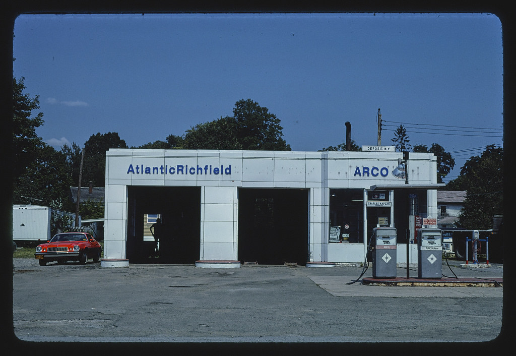Arco Gas Station >> Arco Gas Station Closer View Route 10 Deposit New York