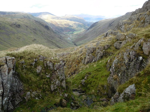 45 - Seathwaite and Borrowdale from a Ruddy Gill feeder | by samashworth2