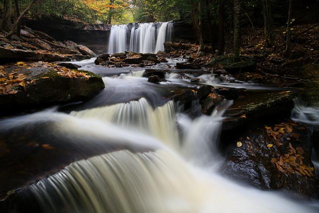 Below Oneida Falls - Ricketts Glen State Park