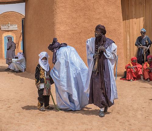 niger sultans palace touareg boy agadez
