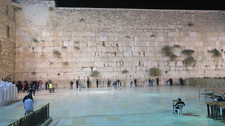 The Western Wall at Night | by Terrazzo