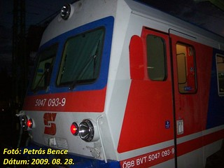 ÖBB 5047 093-9 Sopron, Hungary, 28. 08. 2009.
