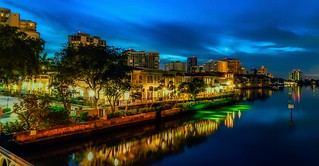 Naples Skyline at Venetian Village | by Charles Patrick Ewing