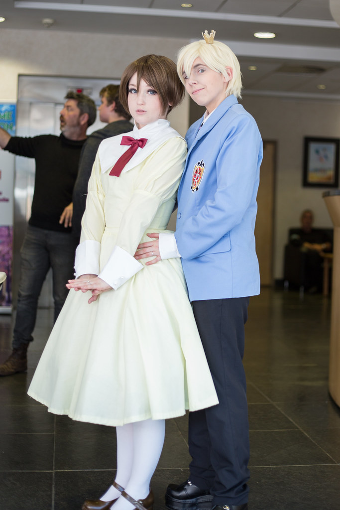 Anime Ouran High School Host Club Tamaki Suoh School Uniform Cosplay Coat Set