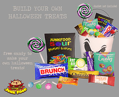 Junk Food - Build your Own Candy Ad