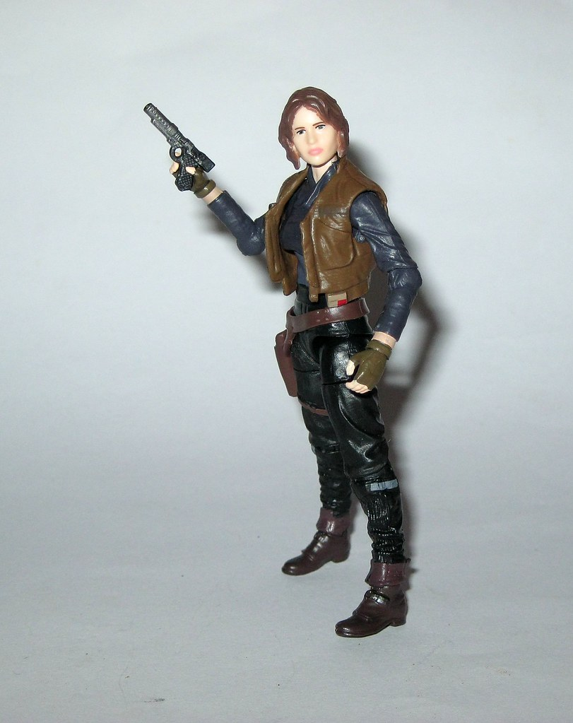 """Star Wars The Black Series Jyn Erso 3.75/"""" Exclusive Figure New"""