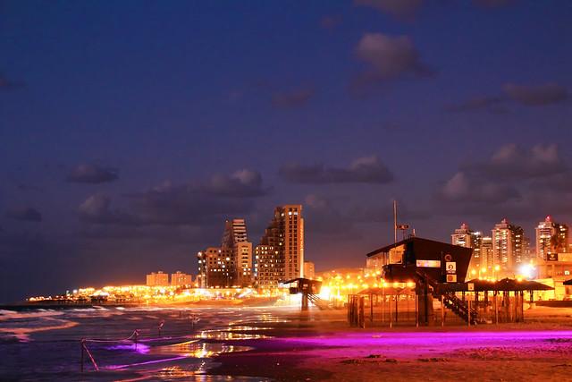 Haifa. Dado beach