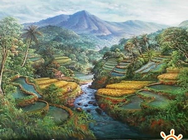 Gambar Lukisan Alam Dengan Pensil A Photo On Flickriver