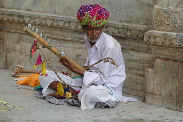 Musika kalean. Udaipur. Rajastán. India.