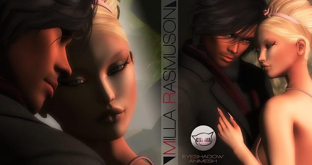 MRM Animesh Eyes Makeup for Catwa Head 2