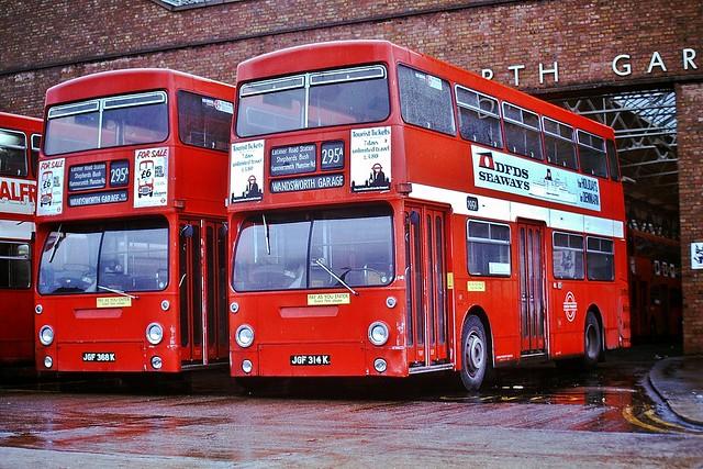 DMS314 JGF314K --- Wandsworth Garage 18-1-75 *