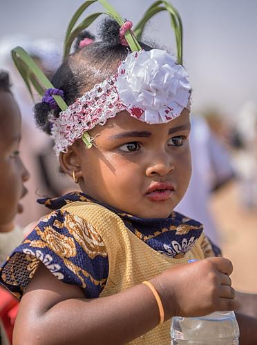 niger agadez bianou festival girl