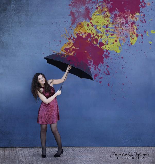 Hoy te lloverán colores - Amparo García Iglesias