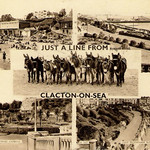 Clacton-on-Sea - Multiple Images Prior to 1960