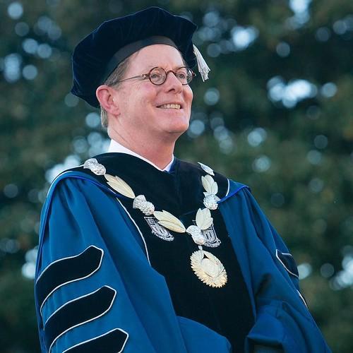 Today Duke officially welcomed President Vincent Price in his formal inauguration ceremony. #foreverduke #priceinauguration //
