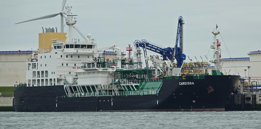 Shell LNG tanker CARDISSA | LNG Break Bulk Terminal Yukonhav