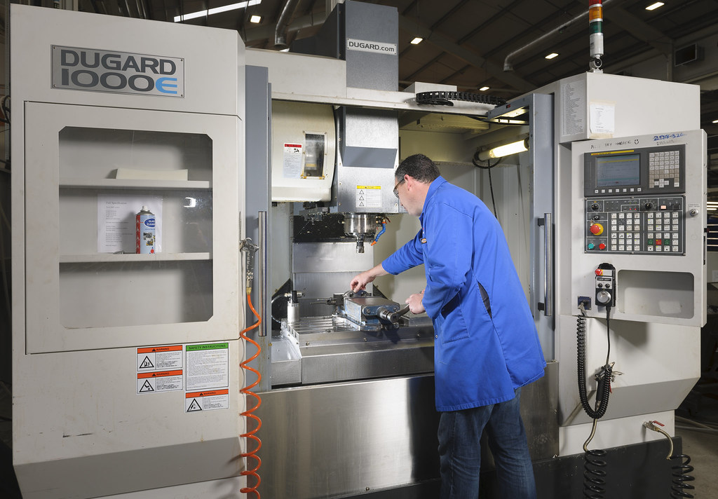 Computer Numerical Control machining capacity | The Test Hou… | Flickr