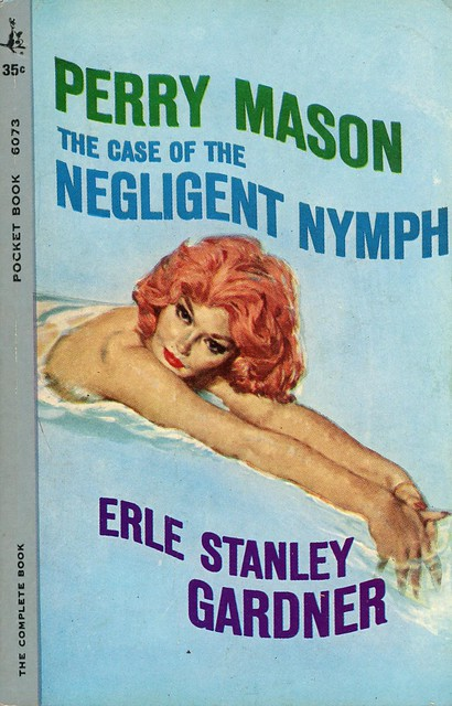 Pocket Books 6073 - Erle Stanley Gardner - The Case of the Negligent Nymph