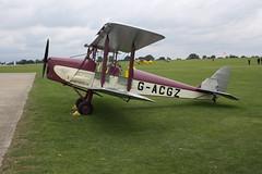 G-ACGZ de Havilland DH-60GIII Moth Major [5030] Sywell 030917