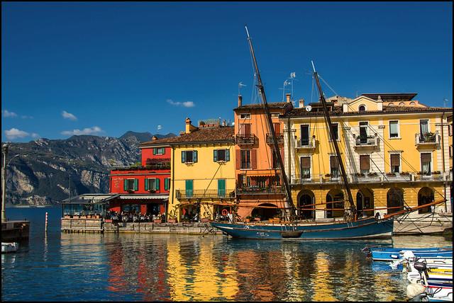 Hafen in Malcesine