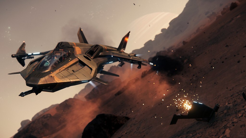 Star Citizen: Too close