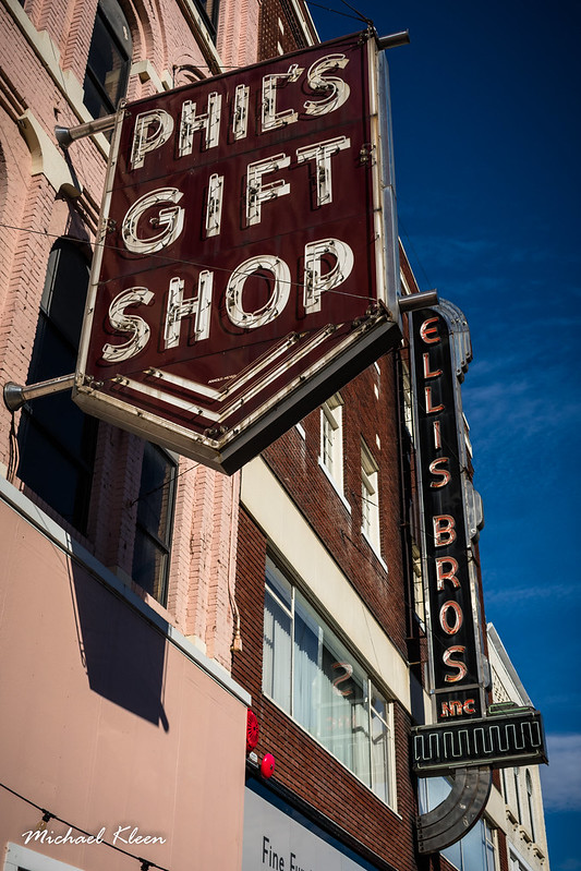 Phil's Gift Shop and Ellis Bros Furniture
