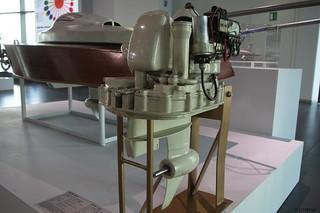 1962 KKM 150 Bootsmotor für Wasserski-Zuggerät _a