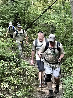 Veterans Hike Across Maryland (Section 1)