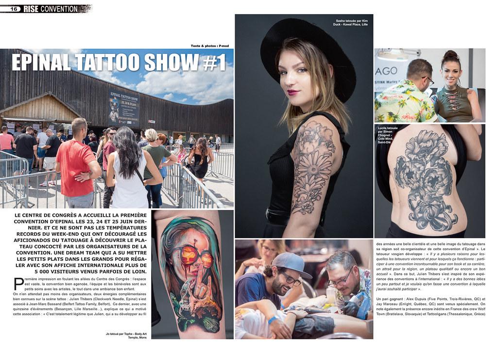 Rise Tattoo Magazine 48 Epinal Tattoo Show Credit Photo