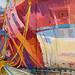 HMS Queen Elizabeth, Gouache on paper, 104x65cm