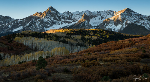 ridgway mountains colorado dallasdivide sunrise fall jclay sanjuanmountains