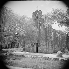 SMDR Photographic Negatives Collection, [1930s][Missions at San Antonio]