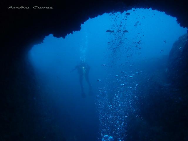 Aroka Marine Cave