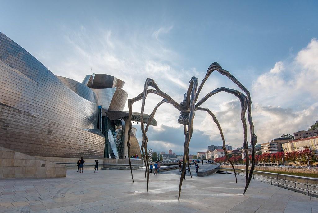 Guggenheim Museo.Museo Guggenheim Bilbao Espana The Guggenheim Museum Bil Flickr