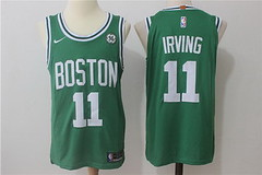 NBA Men's Boston Celtics #11 Kyrie Irving Green Stitched Adidas Revolution 30 Swingman Jersey